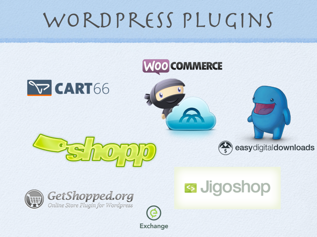 WordPress e-commerce plugins
